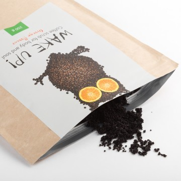 Almea Ltd., Великобритания Wake Up Coffee scrub Orange | Рост Ресниц