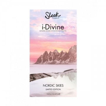 Sleek MakeUP, Великобритания Sleek MakeUP i-Divine Nordic Skies 809 | Рост Ресниц