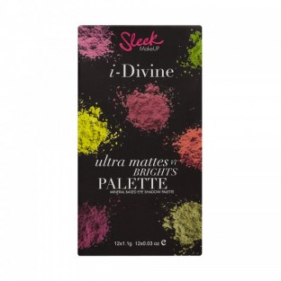 Sleek MakeUP, Великобритания Sleek MakeUP i-Divine Ultra Mattes V1 730 | Рост Ресниц