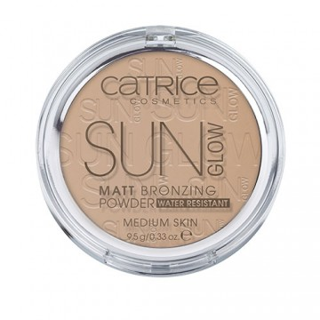 Catrice, Германия Catrice Sun Glow Matt Bronzing Powder Medium Bronze | Рост Ресниц
