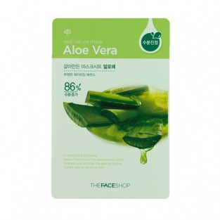 The Face Shop, Южная Корея The Face Shop Real Nature Mask Sheet Aloe | Рост Ресниц