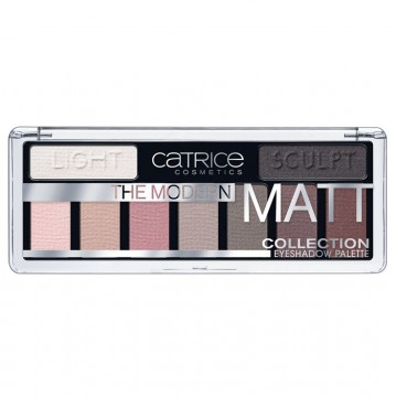 Catrice, Германия Catrice The Modern Matt Collection Eyeshadow Palette | Рост Ресниц