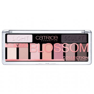 Catrice, Германия Catrice The Nude Blossom Collection Eyeshadow Palette | Рост Ресниц